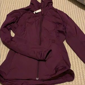Lululemon size 6 purple jacket